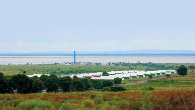 N'Sele farm seen from afar