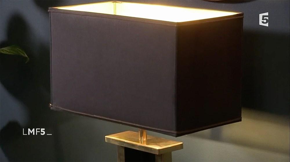 lampe drimmer laiton chez red edition avec la maison france 5 stephane thibaut