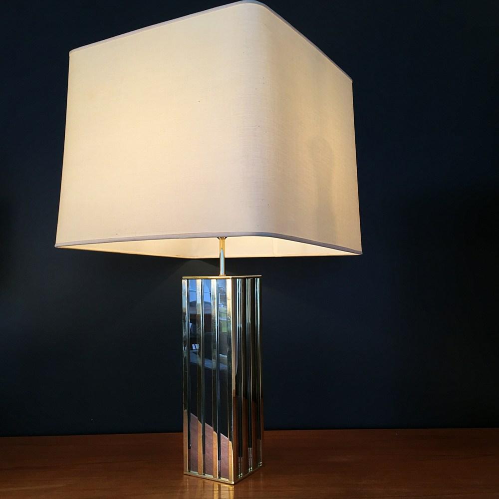 JACQUES CHARPENTIER. Lampe de salon Building. 1970 – LTGMOOD