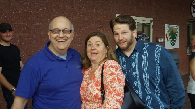 Steve, Whitney Hoffman, and Chris Brogan