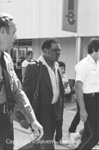 Willie Mays, Echelon Mall, Voorhees, NJ, 1982