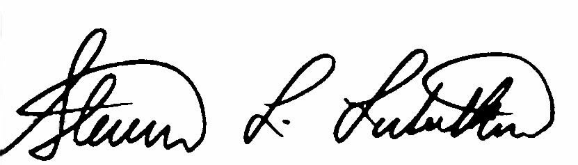 Steve Lubetkin Signature
