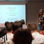 Lucía Marín en ponencia sobre Google Tag Manager y Analytics - Evento Marketineo Burgos - Digital Fest