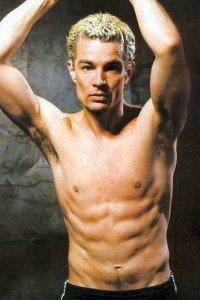 James Marsters just hanging around shirtless.