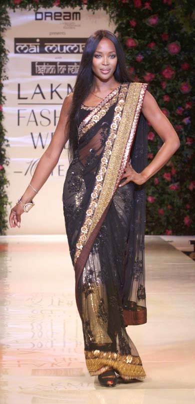 Naomi Campbell at Mai Mumbai
