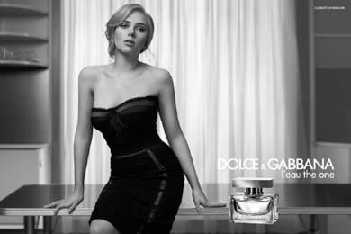 Scarlett Johansson in D&G
