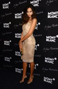 Madalina Ghenea attends Montblanc Celebrates 90 Years of the Iconic Meisterstuck on April 3, 2014 at Guastavino's in New York City. Photographed by Larry Busacca/Getty Images.