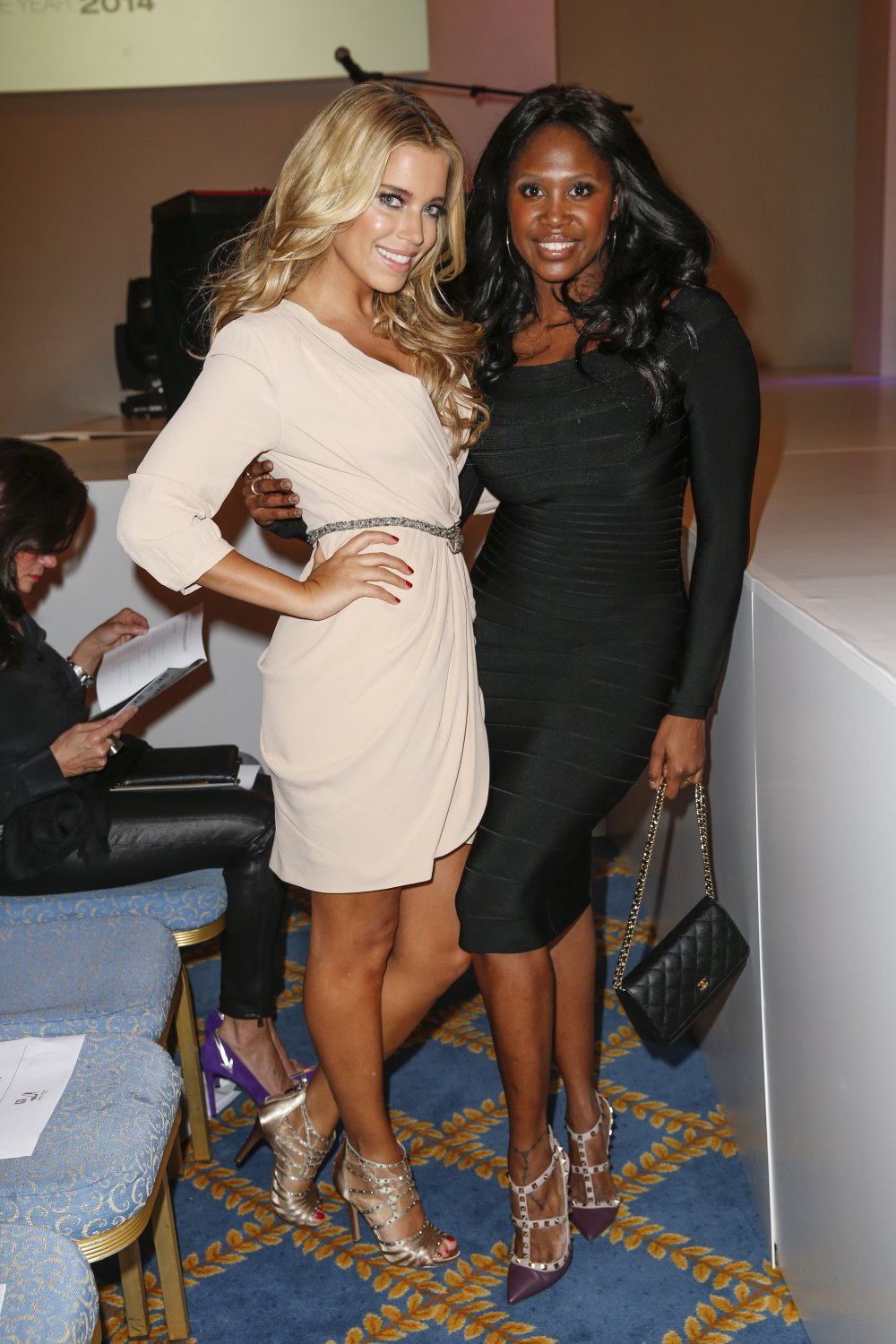 lucire sylvie meis and motsi mabuse. Black Bedroom Furniture Sets. Home Design Ideas