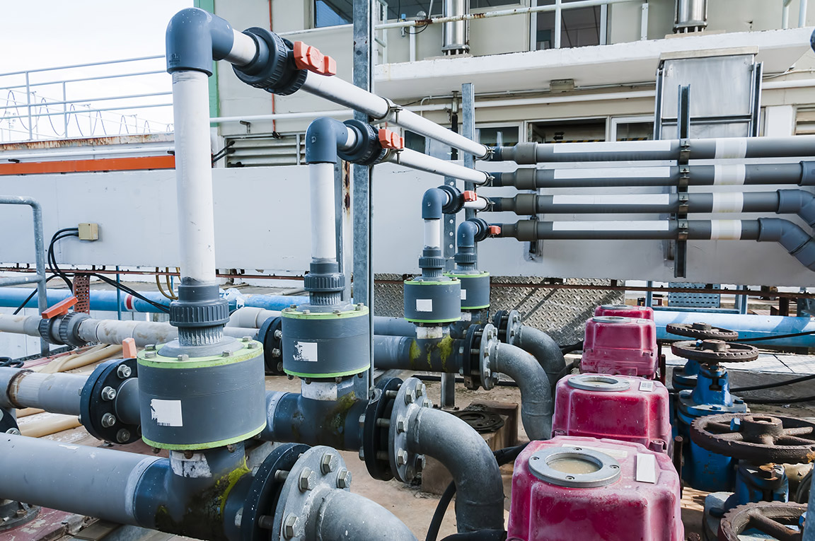 WATER TREATMENT EQUIPMENT INSTALLATION