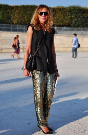 shine in sequins