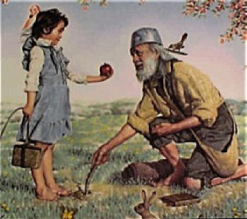 Happy Birthday, Johnny Appleseed!