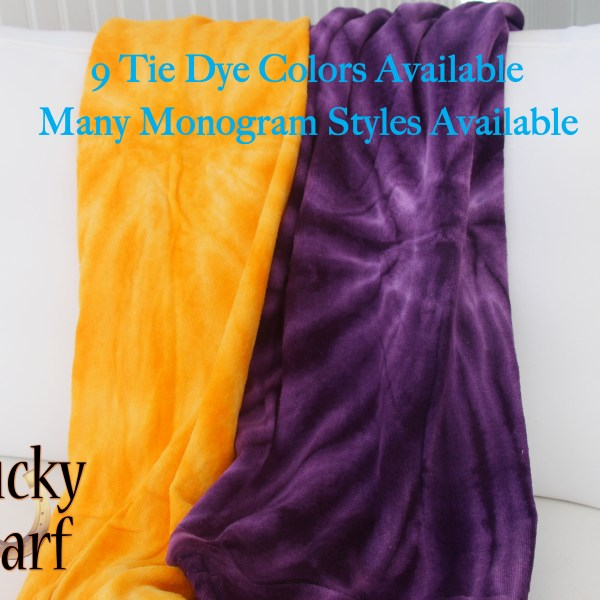Tie Dye Beach Towels from LuckyScarf.com