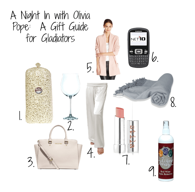 olivia pope gift guide