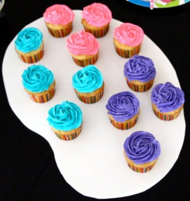 Art Party Cupcake Palette by LuckyScarf