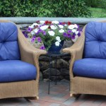 $40 Patio No Sew Furniture Makeover – Game Changer!