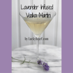 Lavender Infused Martini
