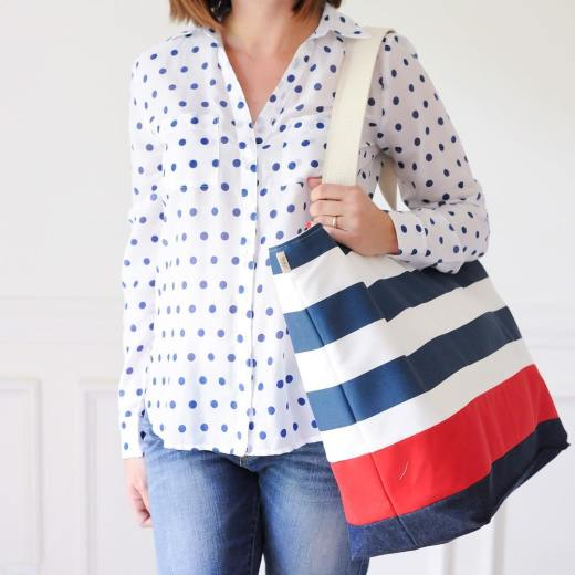 Lucy Jane Beach Bag