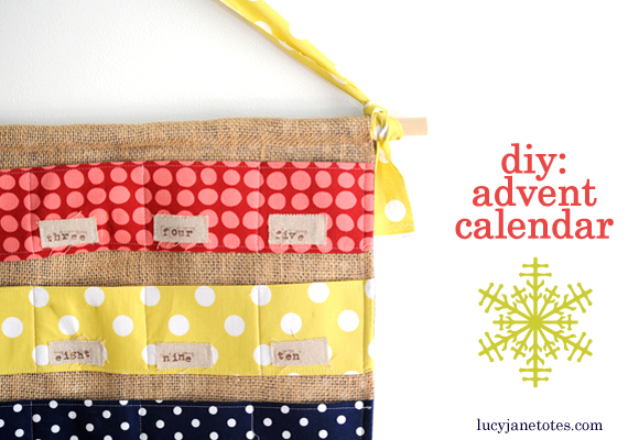 Lucy Jane DIY Advent Calendar