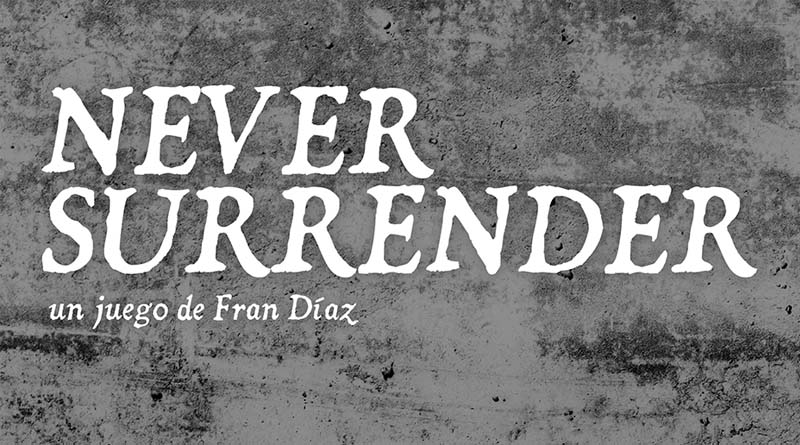 Never Surrender, el tercer título de la serie Ludonova Historia