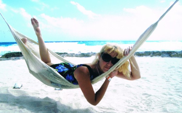 Oh!  The simple joy of a hammock by a Mexican beach...