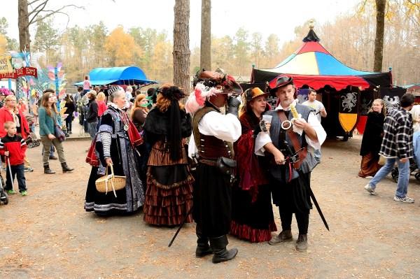 Renaissance Festival people