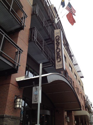 The luxurious and eco-friendly Oxford Hotel in downtown Bend.