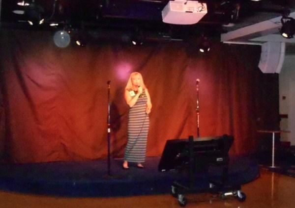 Karaoke... it can be addictive! ©Doug Stead Photography