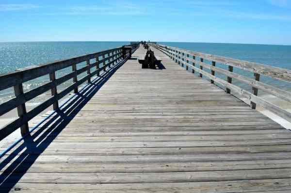 The pier at Mexico Beach