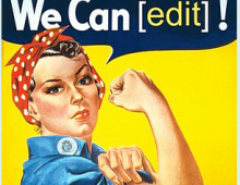 Wikipedia Edit-a-Thon for Women's History Month