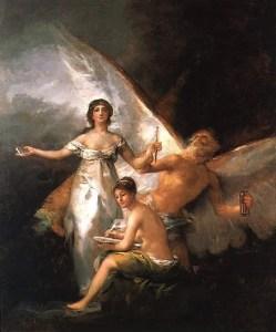 La Verdad, la Historia y el Tiempo. Goya