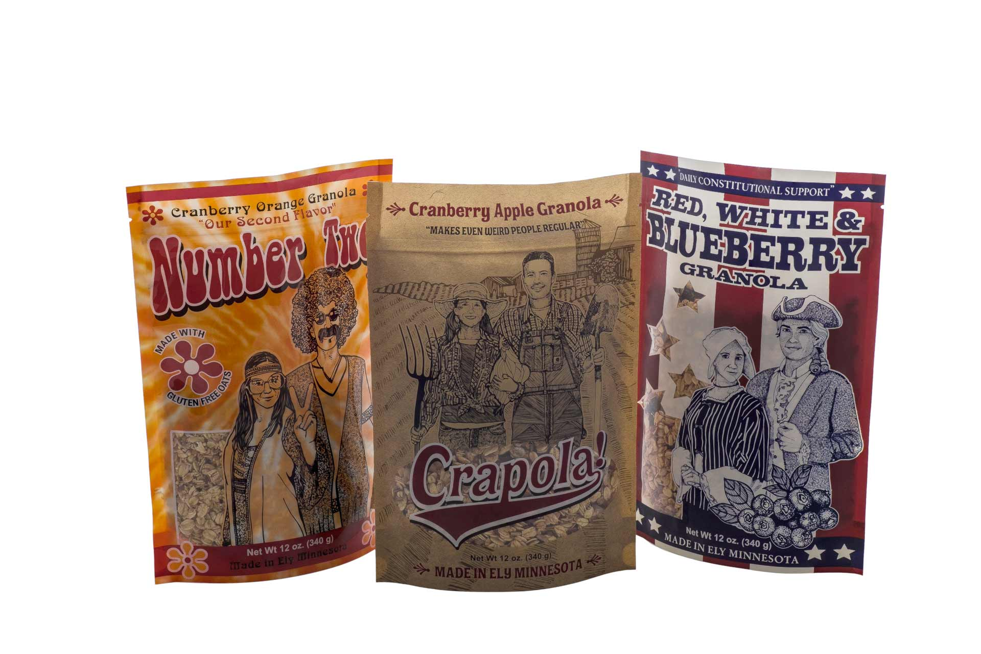 Crapola! Granola – Product Family