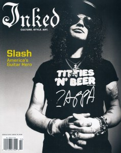 "Full page Feature ""Inked"" 2008 photo by Lani Lee"