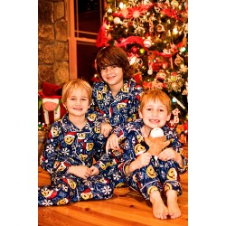 Small Crop Of Christmas Pajamas For Kids