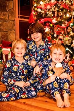 Small Of Christmas Pajamas For Kids