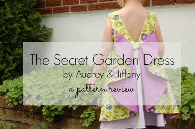 secret garden dress pattern