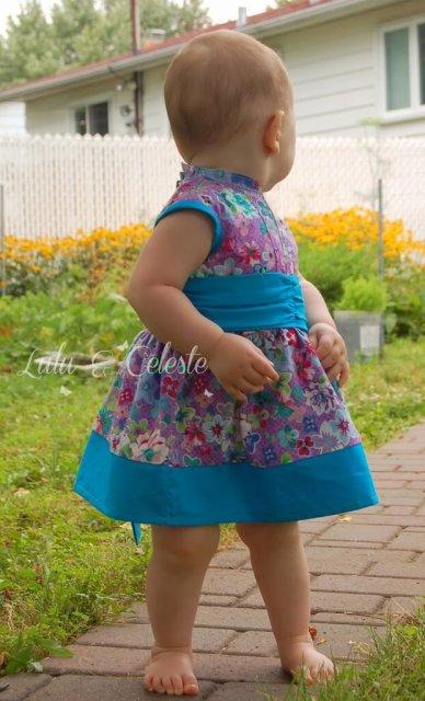 Lulu & Celeste: Cherry Blossom dress pattern by Mandy K Designs
