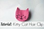 Kitty Cat Hairclip