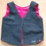 Mademoiselle Vest – Project Run & Play