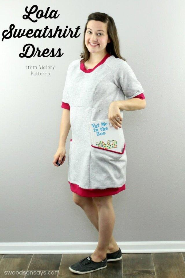 Lola Sweatshirt Dress