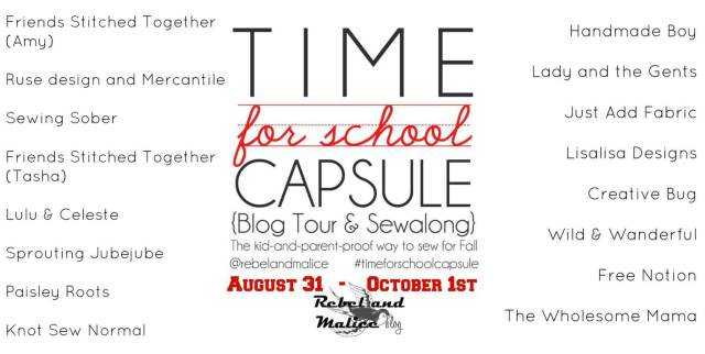 Time for school Capsule Tour graphic