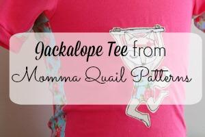 Jackalope tee feature