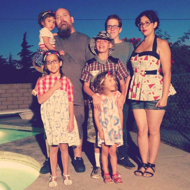 Rebel & Malice family photo