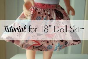 feature doll skirt tutorial