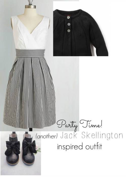 Six Degrees of Separation, A Sew the Show Tour: A Party Time Jack Skellington Look