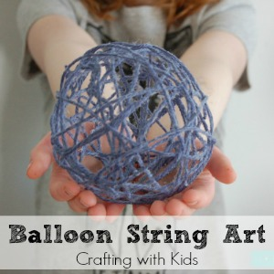 Balloon String Art feature
