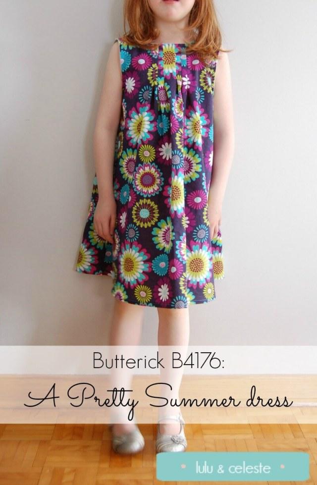 Butterick B4176 sewn by Lulu & Celeste