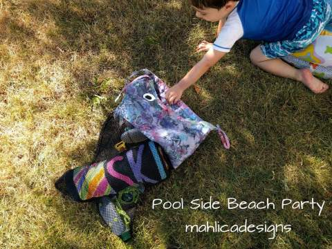 Pool Side Beach Party Tour -mahlica designs