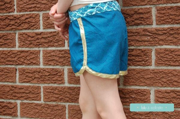 Swim and Surf Shorts sewn by Lulu & Celeste