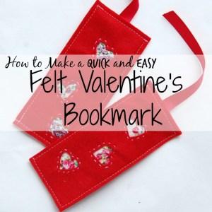 valentine bookmark sidebar