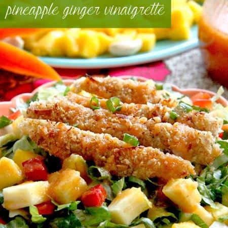 summer fruit lunch dinner salad recipe